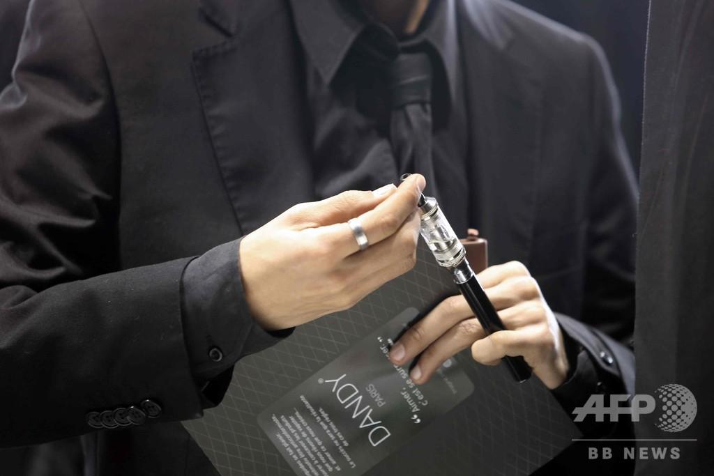 電子たばこは有害、WHO報告書「疑いの余地なし」