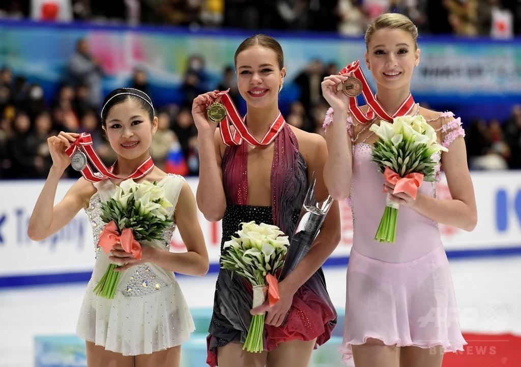 宮原、NHK杯2位に入りGPファイナル進出 優勝はポゴリラヤ