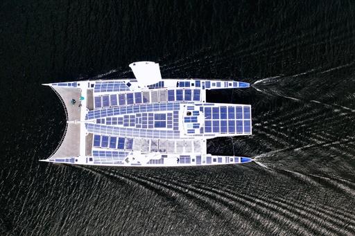 再生エネルギーだけで世界一周目指す船、順調に航行 ゴールは22年
