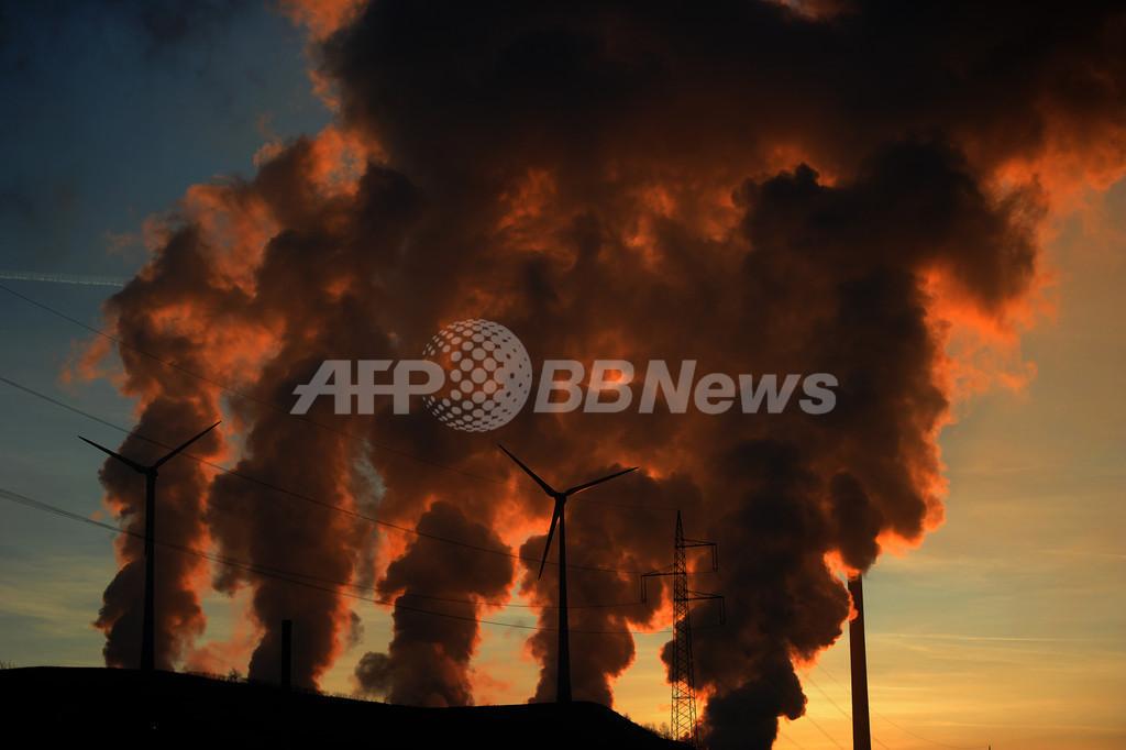 温室効果ガス濃度、過去最高を更新 国連報告書