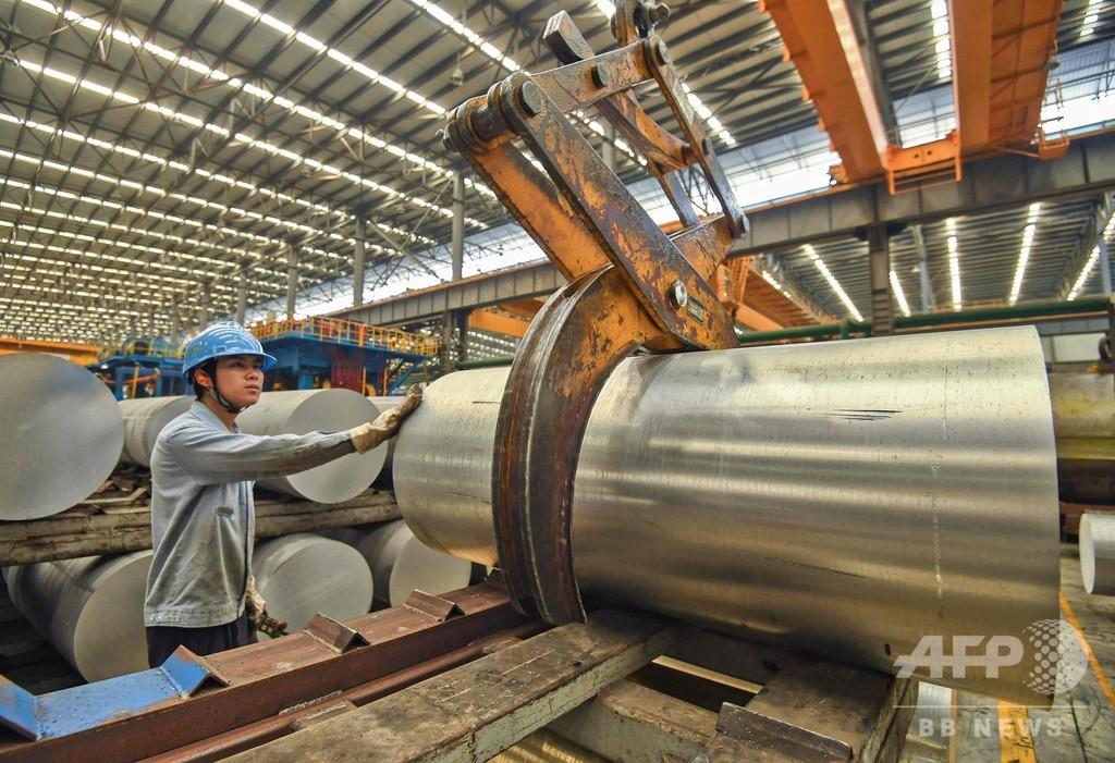 中国の1~3月経済成長率6.3%、減速傾向続く AFP調査