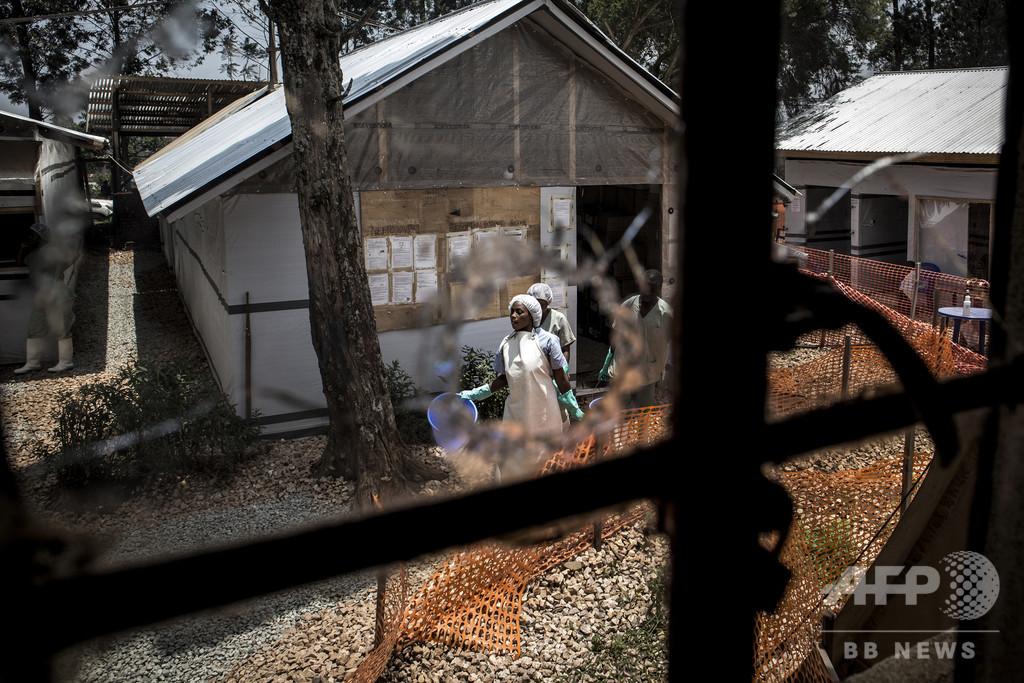エボラ出血熱の死者1000人に迫る、コンゴ民主共和国