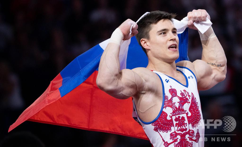 ロシアのナゴルニが男子個人総合V、今大会2個目の金 世界体操
