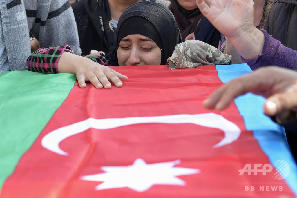 アルメニアとアゼルバイジャン、戦闘継続と明言 国際社会の呼び掛け拒絶