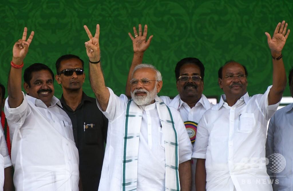 インドで4月に総選挙、有権者9億人 5月23日に開票