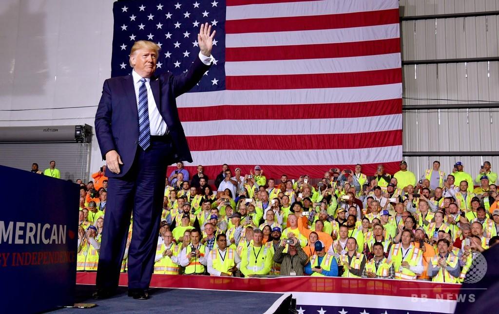 トランプ米大統領、WTO脱退を警告 「必要であれば」