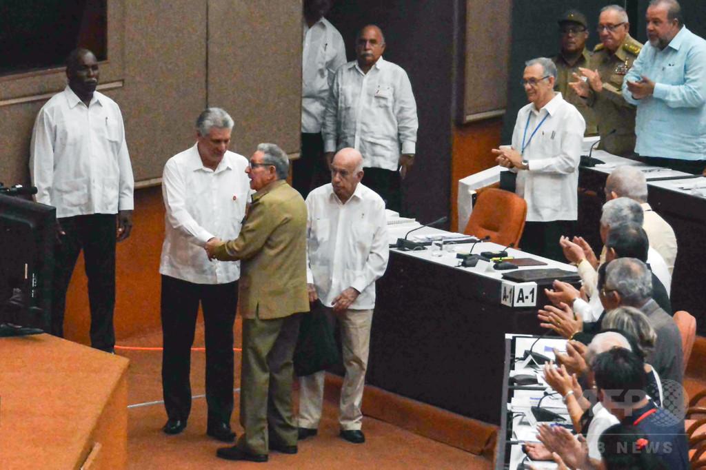 キューバ国会、市場経済認める改憲草案を採択 共産党独裁は維持
