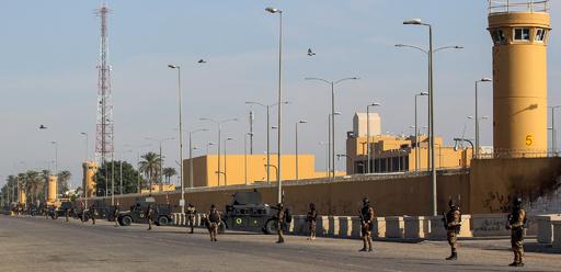 在イラク米大使館付近にロケット弾、昨年10月以降19回目の対米攻撃