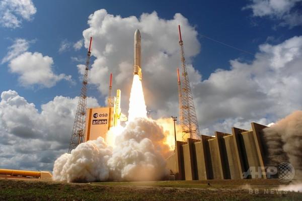 欧州版GPS「ガリレオ」測位衛星4基の打ち上げ成功、ESA
