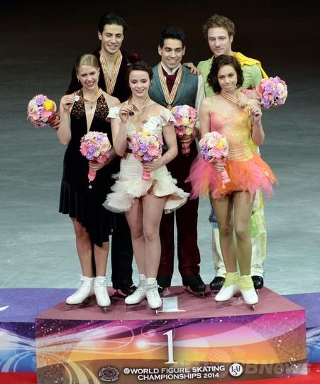 カッペリーニ/ラノッテ組がアイスダンス制す、世界フィギュア