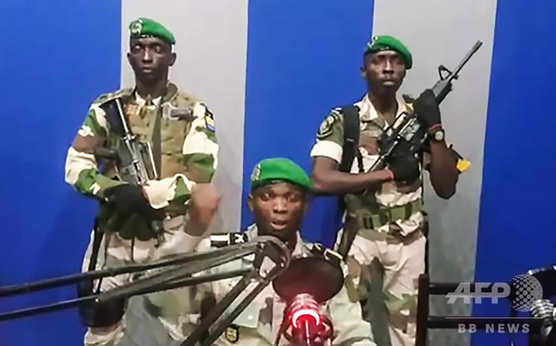 アフリカ・ガボンでクーデター未遂 首謀者拘束、2人殺害