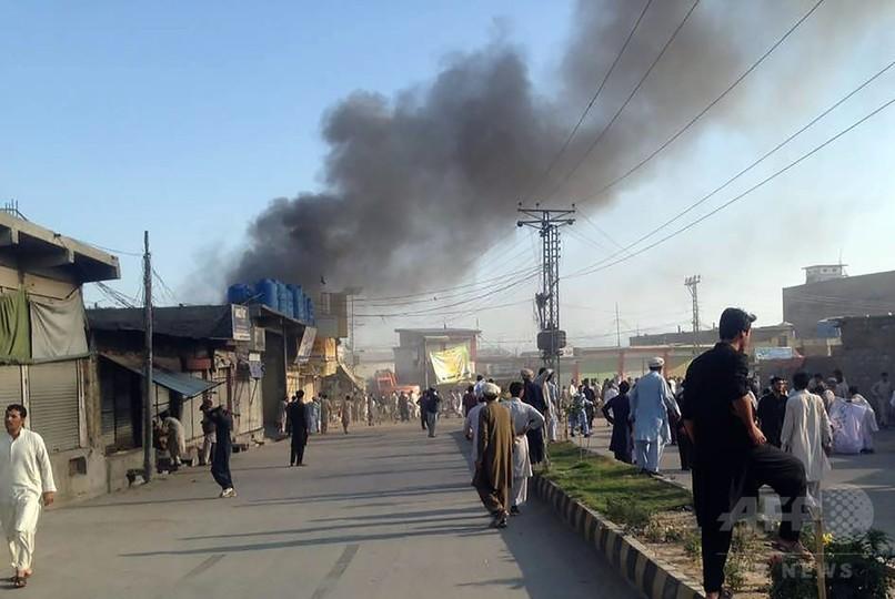 1日に3都市で爆弾・銃撃事件、計54人死亡 パキスタン