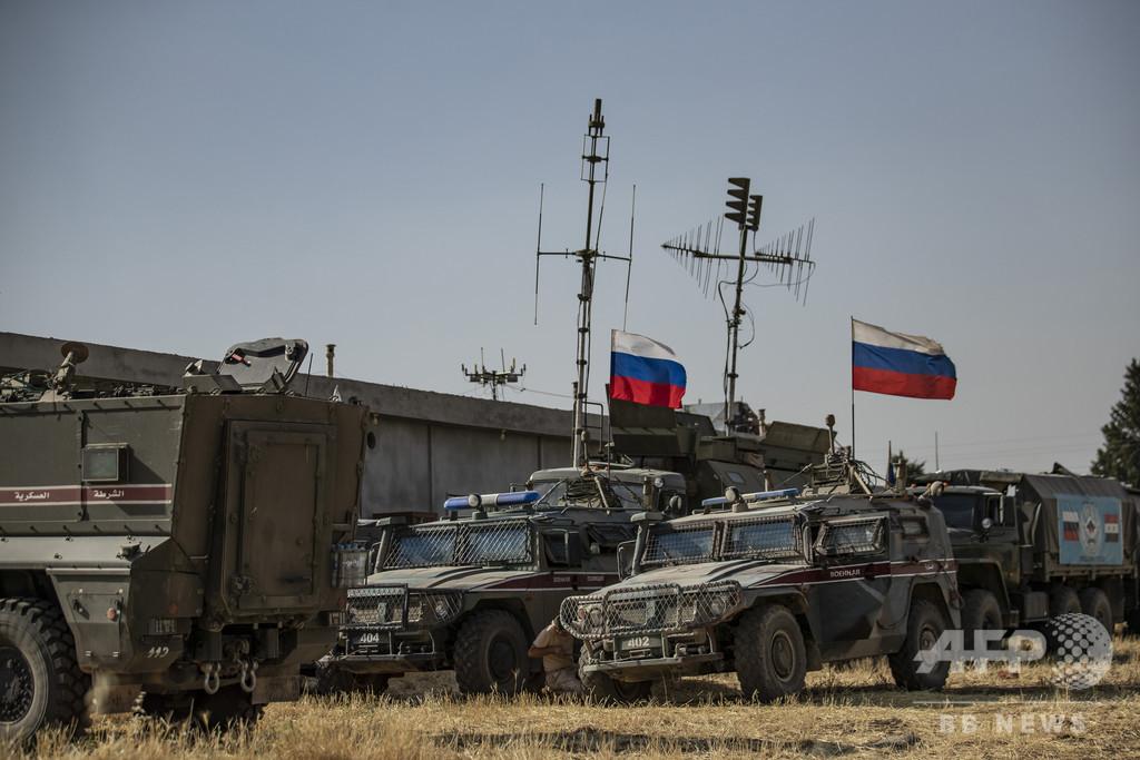 ロシア少将、シリアで「爆破装置」により死亡 報道
