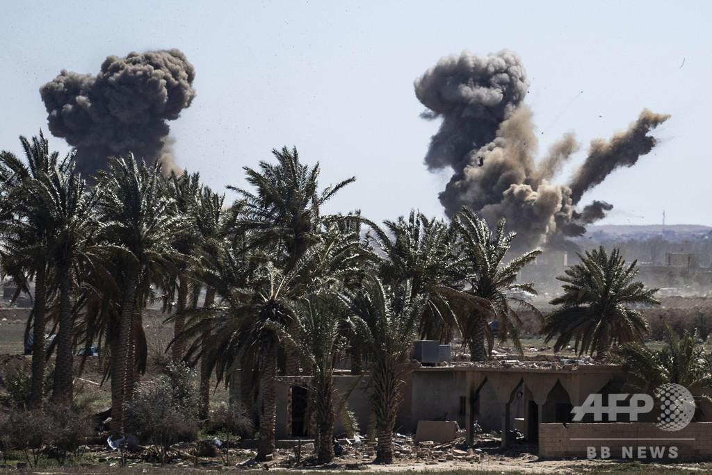 IS掃討作戦で民間人630人超死亡 監視団発表