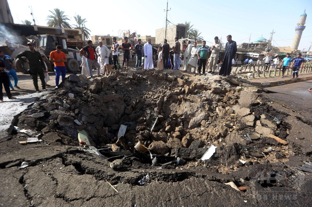 IS自爆攻撃の死者90人に、イラク・カーンバニサード