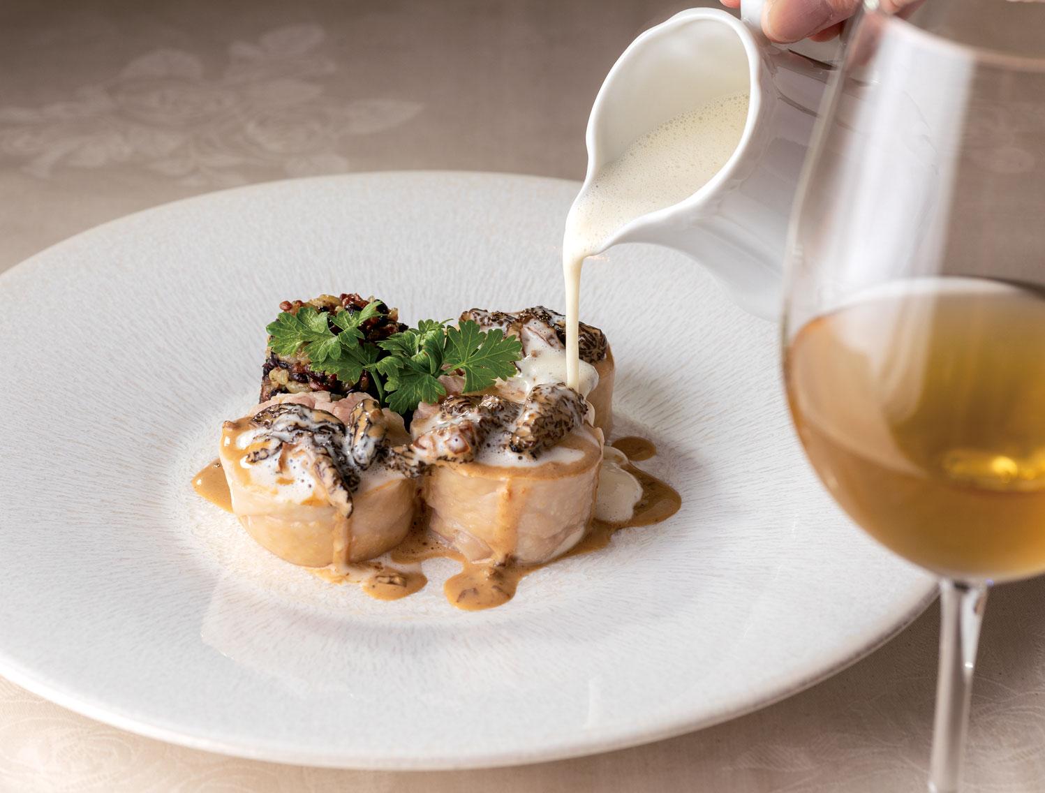 料理とワインのペアリングの妙を楽しむ! 東大前 マ プール