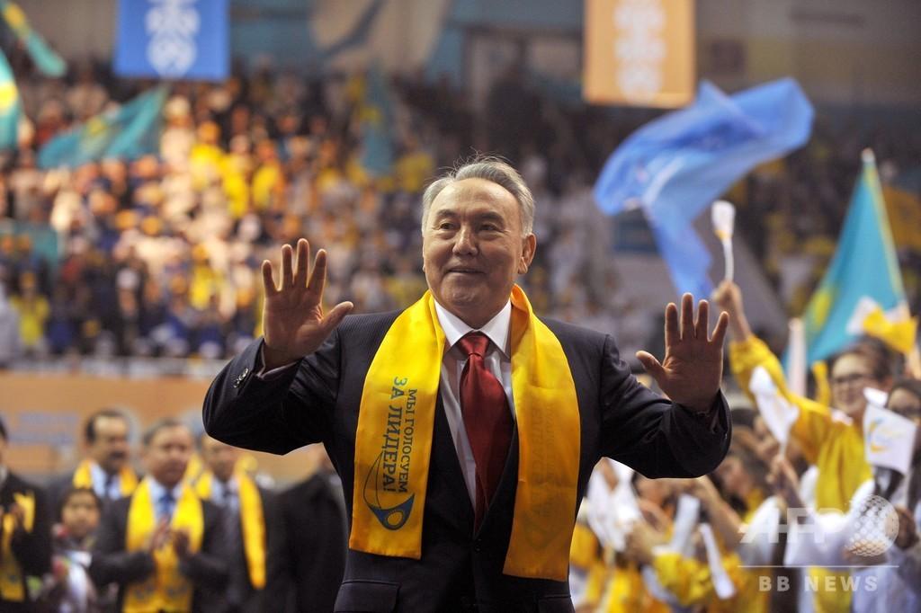 カザフ大統領、電撃の辞任発表 約30年政権握る
