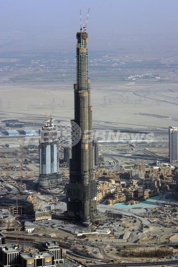 湾岸に超タワー続々、アラブ諸国の超高層建築競争