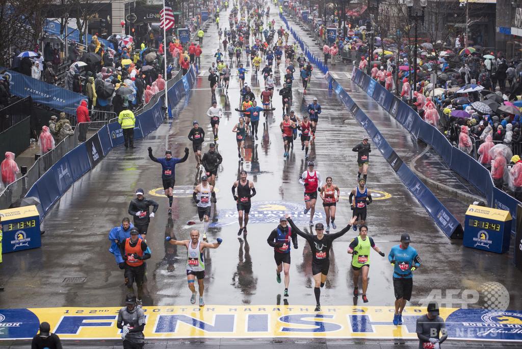 ボストン・マラソンで中国人ランナー3人が不正、永久追放処分に