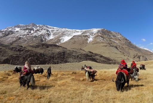 「世界の屋根」で孤立、ワハン回廊のキルギス人 アフガニスタン