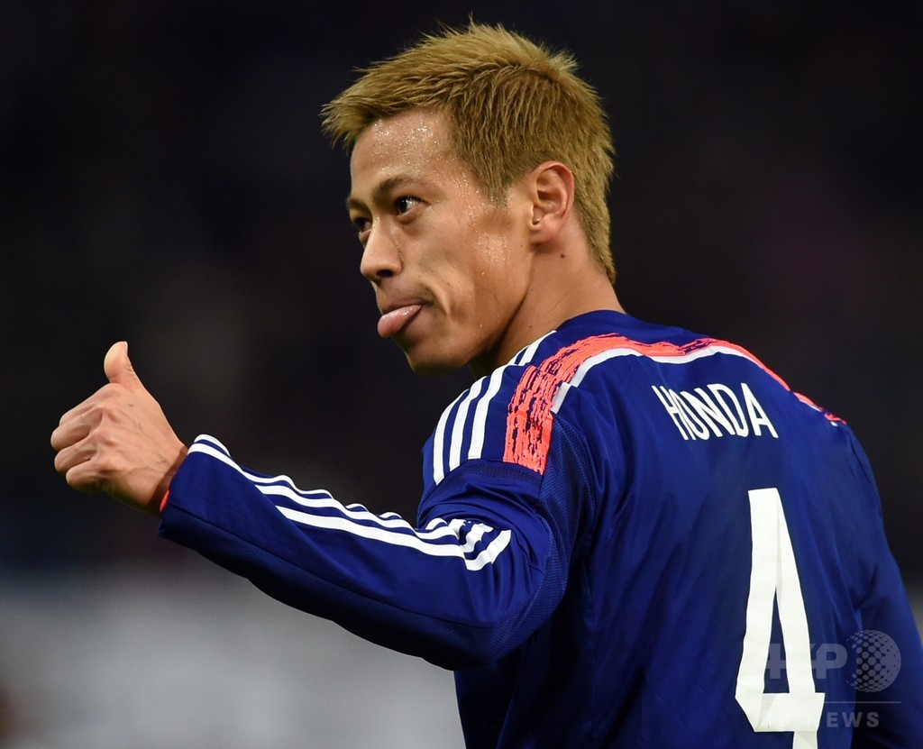 日本、本田を中心にホンジュラスから6得点の大勝
