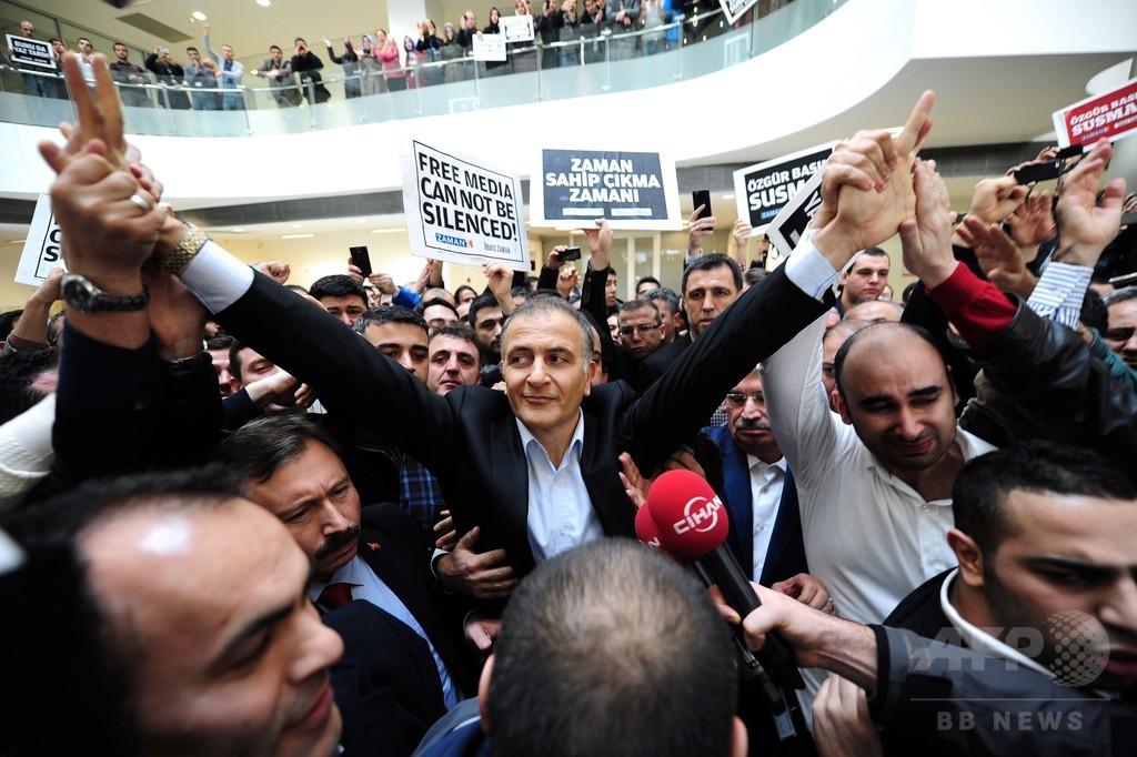 トルコ警察、反エルドアン派の編集長ら27人逮捕