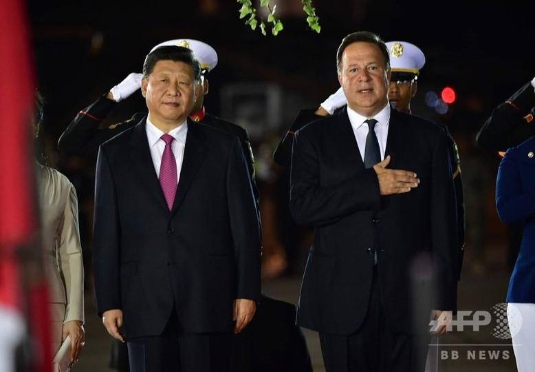 習氏、台湾と断交のパナマ訪問 中南米での影響力強化狙う