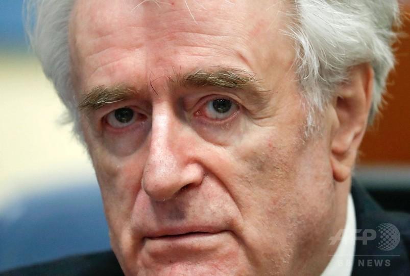 元セルビア人指導者カラジッチ被告の上訴審、検察は終身刑求める