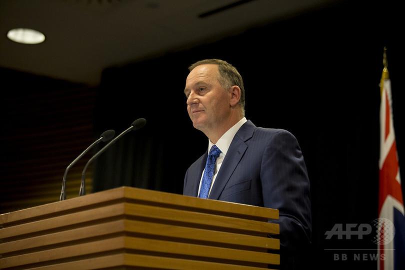 ニュージーランド首相、家庭の事情で電撃辞任を表明