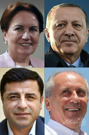 トルコで大統領選と総選挙、投票始まる エルドアン氏苦戦か