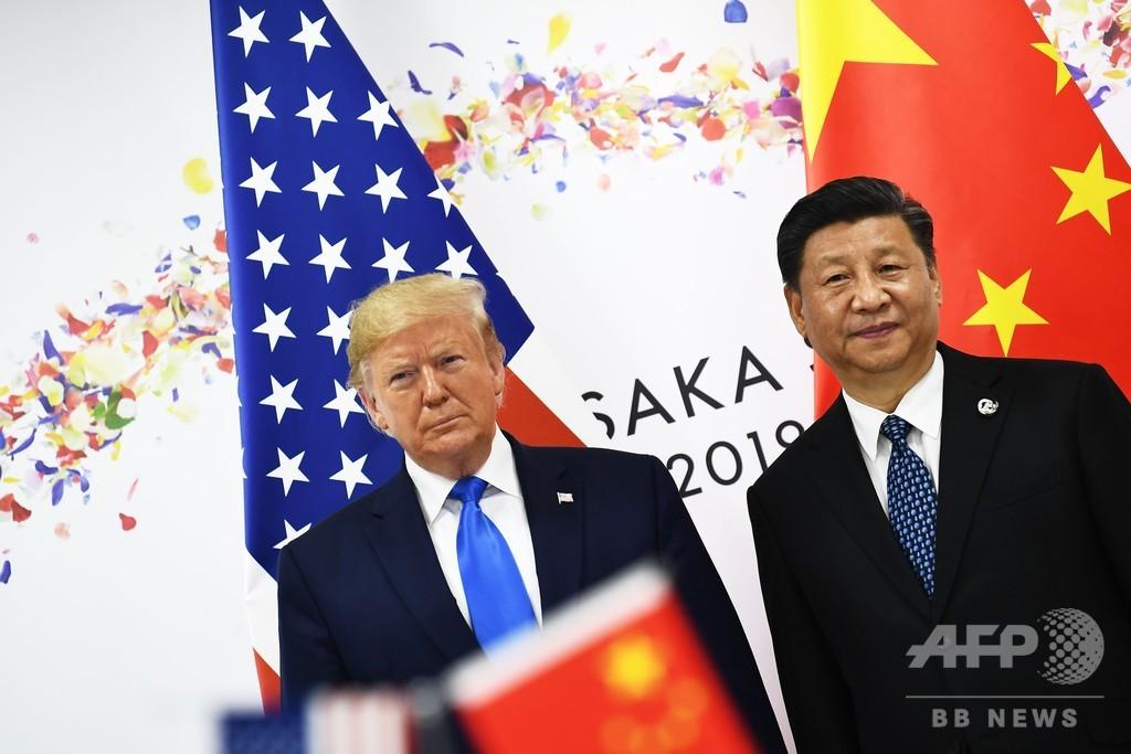 大阪G20で米中首脳会談、トランプ氏 「歴史的」な貿易協定に意欲