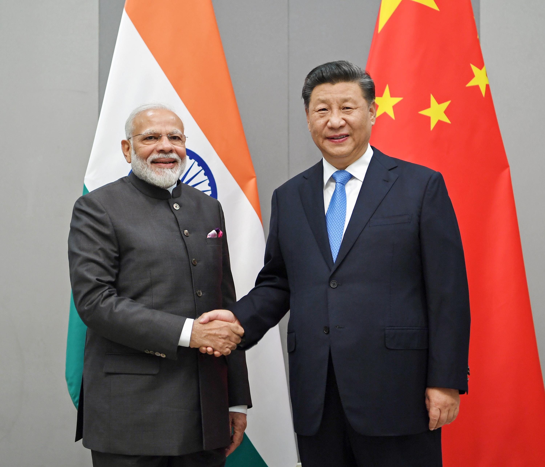 習近平主席、インド首相と会談 途上国の正当な発展権益を守る