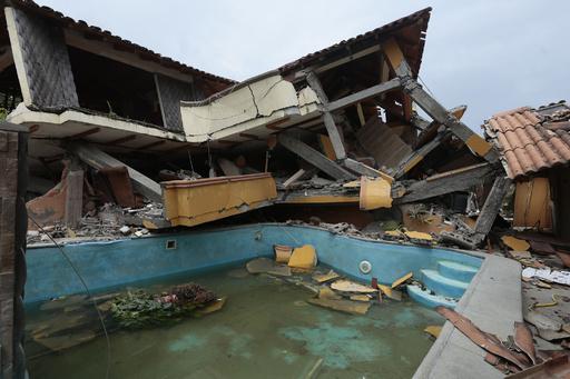 エクアドル地震、死者646人に 大統領が公表