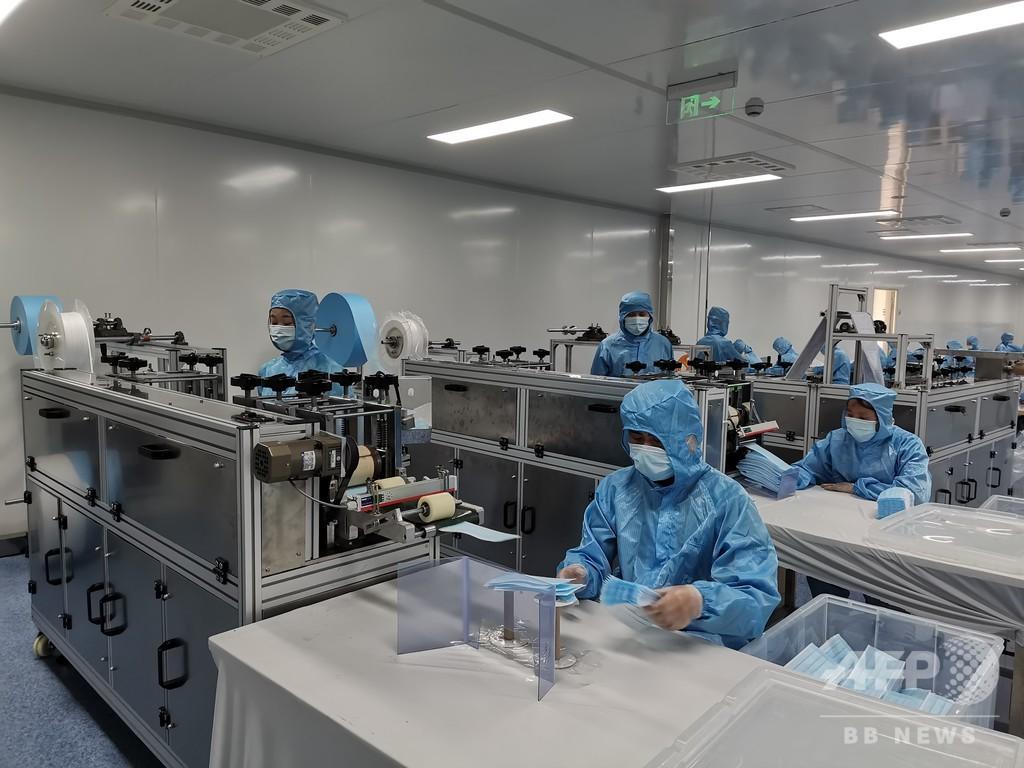 マスクなど6種 「市場調達貿易」方式での輸出を一時停止 中国・義烏市