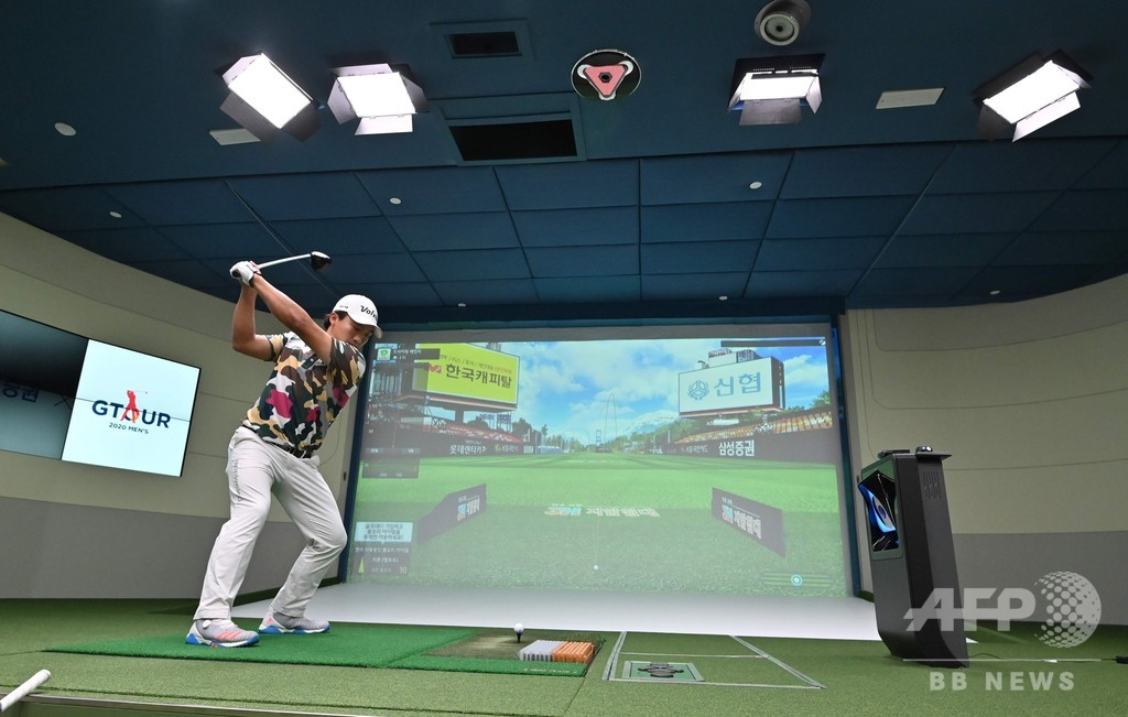 プロ選手も注目 韓国で「スクリーンゴルフ」が人気の理由
