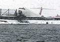 冬の嵐の米NY、旅客