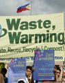 対策会議が温暖化に一役?会期中のCO2排出量は1万トン超