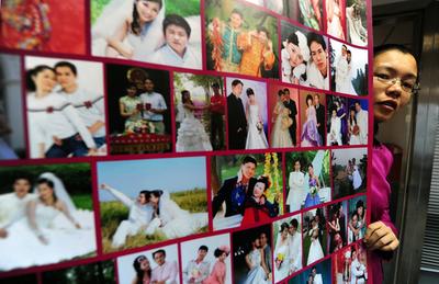 縁組み求め若者あふれる、中国の出会い系サイト