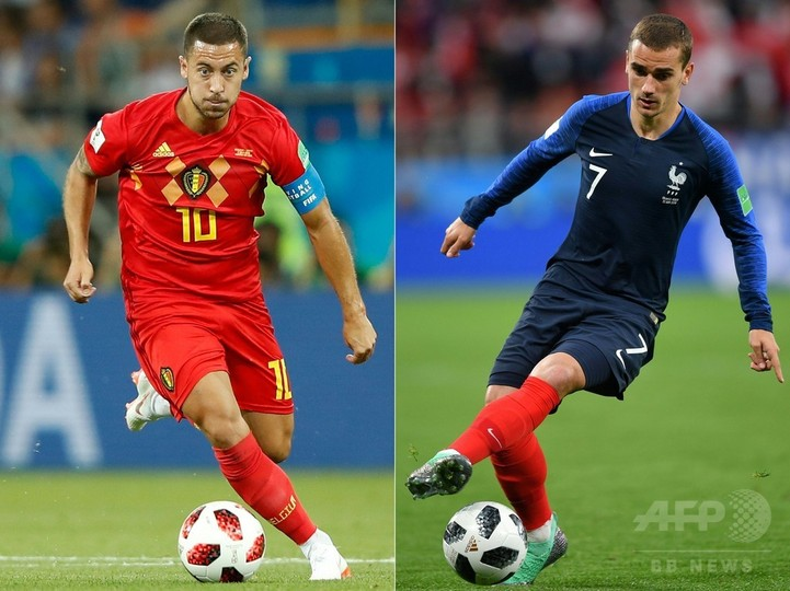 フランス対ベルギーの先発メンバー発表、マテュイディが復帰