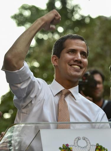ベネズエラ、野党指導者グアイド氏の議員特権剥奪へ 最高裁が指示