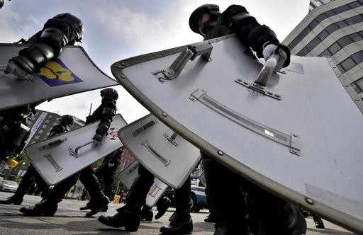 洞爺湖サミット2日目、札幌市内で反G8デモ