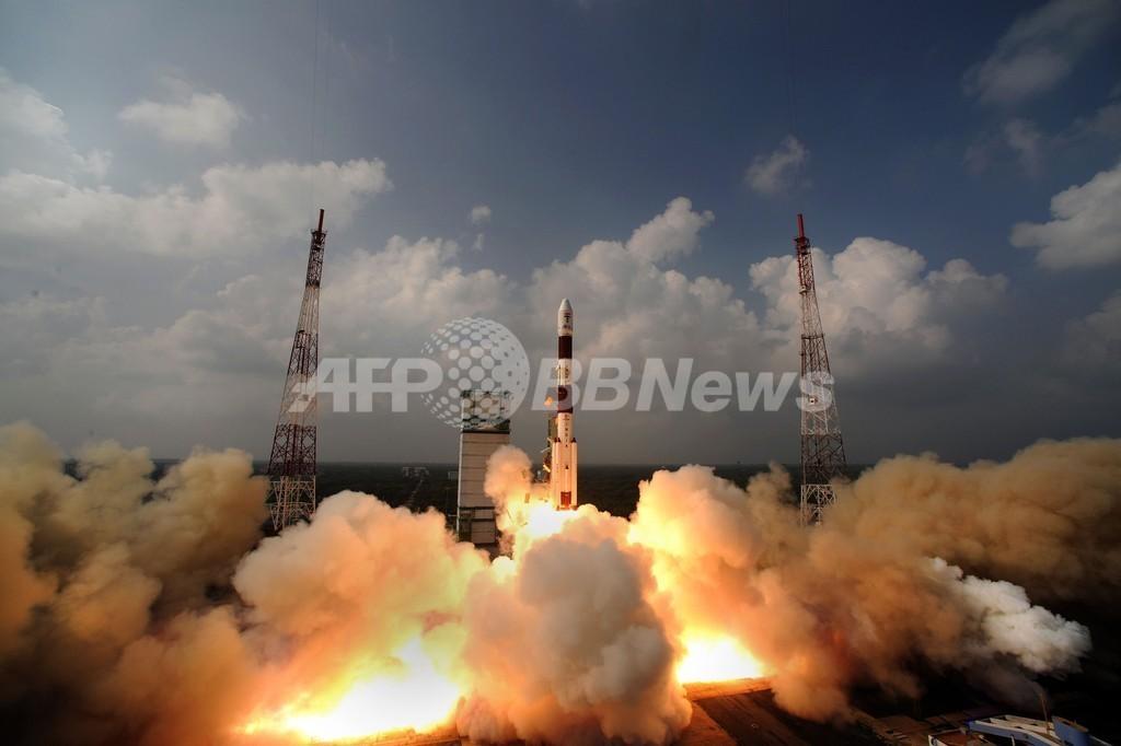 インドの火星探査機、周回軌道の高度上昇に成功