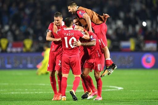 セルビアが2大会ぶりW杯切符、途中出場プリヨヴィッチが決勝点