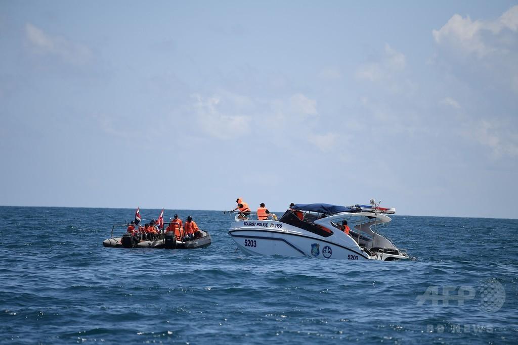 タイ沈没、死者41人に 墓場と化した船内、捜索続く