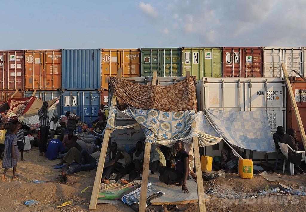 国連、南スーダンに展開のPKO部隊 約6000人増強へ