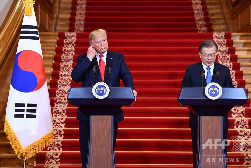 トランプ大統領、金正恩氏と板門店で面会へ「とても楽しみ」