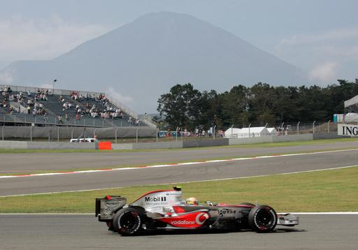 ハミルトン 日本GP・フリー走行1回目は4番手