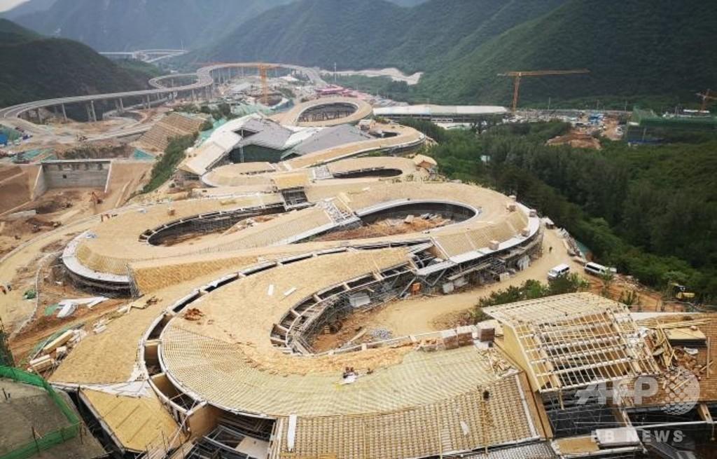 北京冬期五輪の延慶競技エリアが年内に工事完了 北京市内から高速鉄道で30分