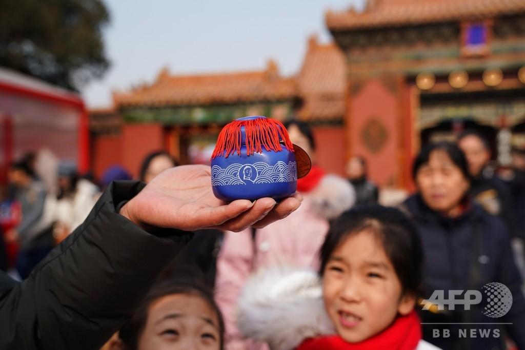 「中国の老舗企業」が故宮で新年のイベント
