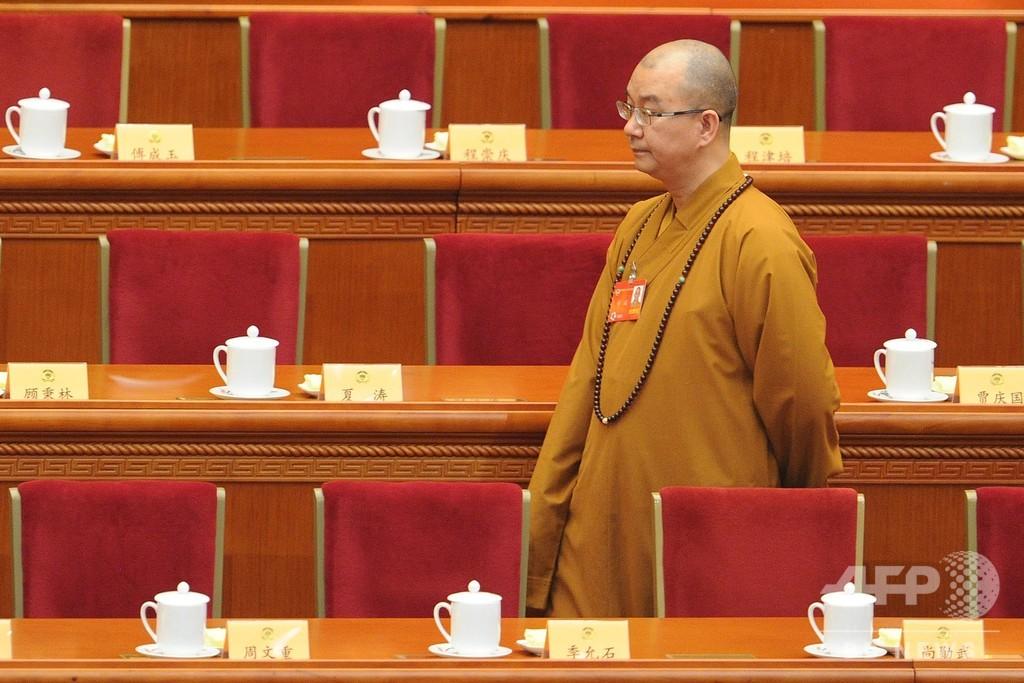 中国有名寺院の住職が尼僧らに性行為強要か、当局が調査開始